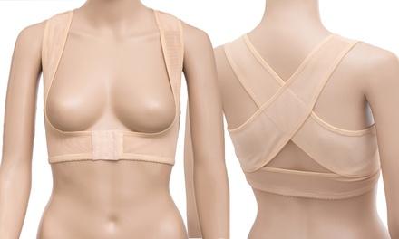 Correcteur de posture conçu spécialement pour les femmes, pour soulager les maux de dos
