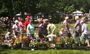 Klehm Arboretum & Botanic Garden: Two or Four Garden Fair Weekend Tickets on June 4–5  at Klehm Arboretum & Botanic Garden (Up to 38% Off)