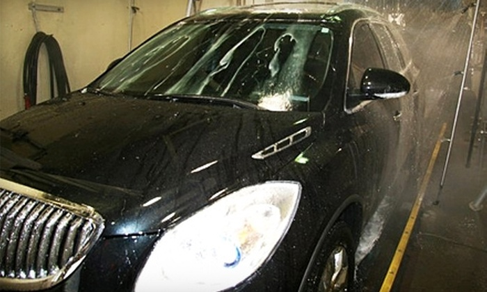 Classic Auto Wash - Allen Park: $19 for Four Premium Exterior Rain-X Washes at Classic Auto Wash in Allen Park ($59.96 Value)