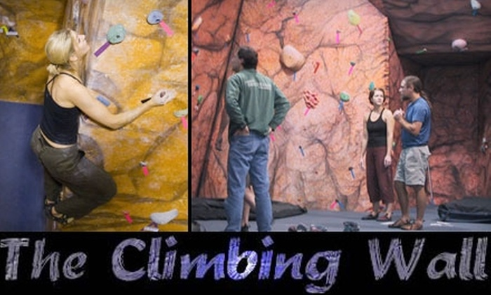 The Climbing Wall - Point Breeze North: $25 for One Month of Unlimited Climbing at The Climbing Wall
