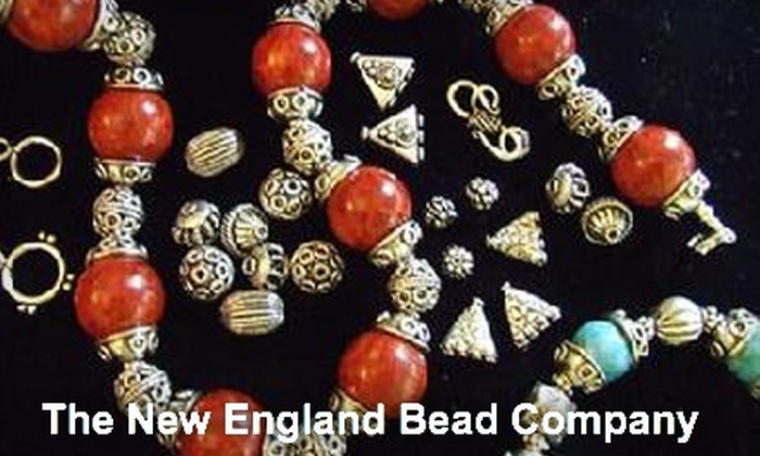 The New England Bead Company - Ashland: $20 for $40 Worth of Beading Accessories, Jewelry, or Classes at The New England Bead Company in Ashland