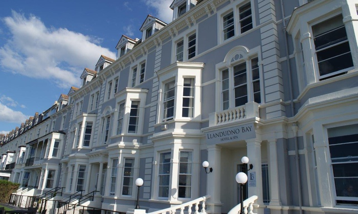 Llandudno Bay Hotel  - Llandudno: Afternoon Tea with Prosecco for Two or Four at 4* Llandudno Bay Hotel (Up to 45% Off)