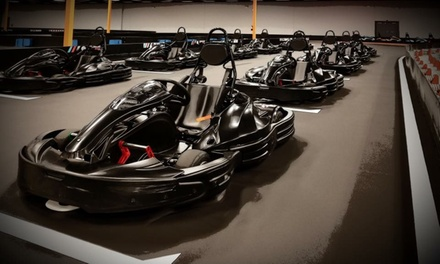 Racing Package for Two or Four at Adrenaline Rush Raceway (Up to 44% Off)