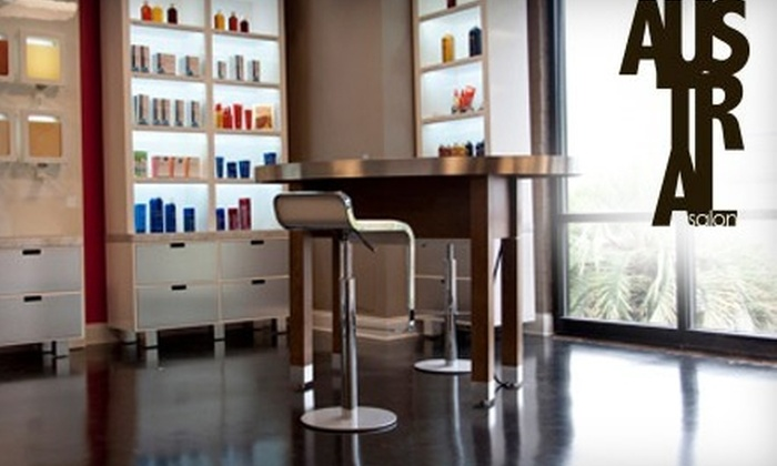 Austral Salon - Southeastern Columbia: $99 for Keratin Hair Treatment (Up to $400 Value) or $40 for $100 Worth of Salon Services at Austral Salon
