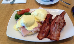 Essence catering: Breakfast or Lunch + Tea or Coffee for Two ($25) or Four People ($49) at Essence Cafe & Catering (Up to $114.80 Value)