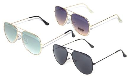Tris di occhiali da sole unisex