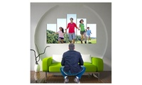 Fotolienzo personalizado de 3, 4, 5 o 18 paneles desde 39,95 € con Decorizate