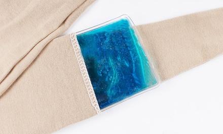 1x, 2x oder 4x Bandage mit Gelkissen zum Wärmen oder Kühlen