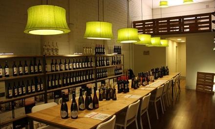 Cata de vinos para 2 o 4 personas desde 15,99 € en Km 0 by Unió