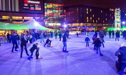 Ice Skating Session for One Child or Adult or Family of Two Adults and two Children in Wembley (Up to 23% Off)