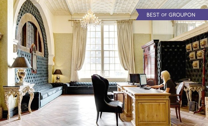 Liverpool: 1 or 2 Nights for Two with Breakfast and Option for Dinner at 30 James Street Hotel