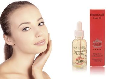 Cougar beauté olie met hyaluroonzuur voor gezicht vanaf € 12,98 (tot 96% korting)