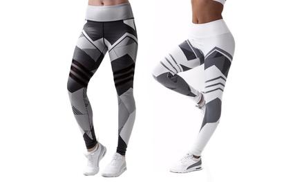 1 o 2 Leggins deportivos Greyscale para mujer