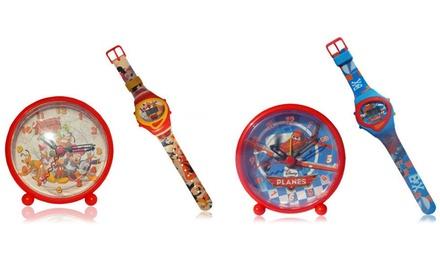 Orologio digitale e sveglia Disney