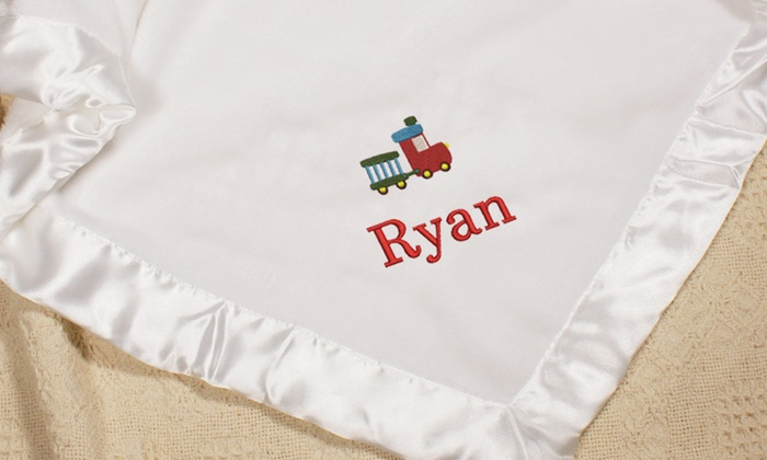 personalized baby blanket from 14 99 groupon