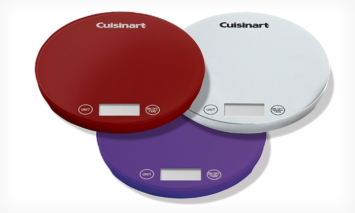 Cuisinart DigiPad Digital Kitchen Scale: $19.99 for a Cuisinart DigiPad Digital Kitchen Scale ($64.95 List Price). Free Shipping and Returns.