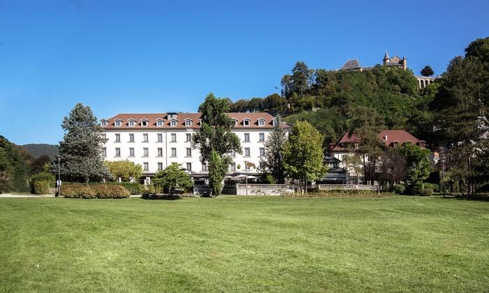 Relais du Silence Grand Hotel D\'Uriage à Uriage- les-Bains, Rhone ...