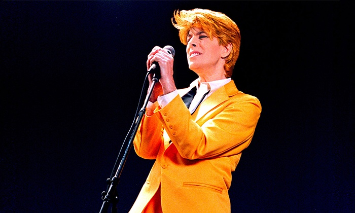 Space Oddity – David Brighton's Tribute to David Bowie - South Shore Room at Harrah's Lake Tahoe: Space Oddity – David Brighton's Tribute to David Bowie on Saturday, April 16, at 7:30 p.m.