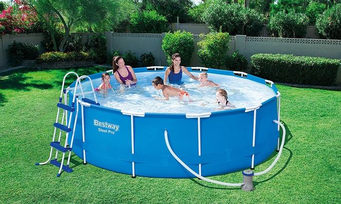 Bestway Garden Swimming Pools Groupon Goods