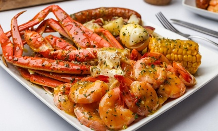 American Food, Seafood, and Crawfish at Krab Queenz (Up to 33% Off). Two Options Available.