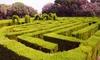 Le Parc des Labyrinthes - La Roque d'Anthéron: 3 entrées pour enfants ou adultes dès 13 € au Parc des Labyrinthes