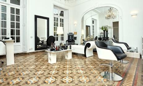 Sesión de peluquería completa con asesoramiento y opción a tinte y/o mechas desde 16,95€ en Maison Infinity Hair Oferta en Groupon