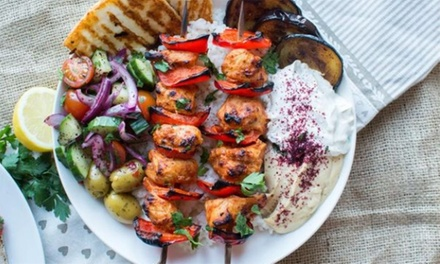 TwoCourse Turkish Meal for Two or Four at Turkish Kitchen