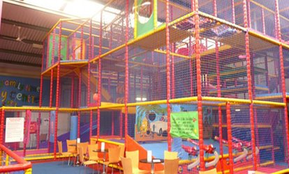 Soft Play Entry with Drinks for Two or Four Children at Jellybeans Play Centre (Up to 45% Off)
