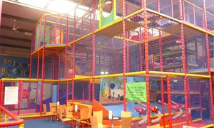 Jellybeans Play Centre: Soft Play Entry with Drinks for Two or Four Children at Jellybeans Play Centre, Warrington (Up to 45% Off)