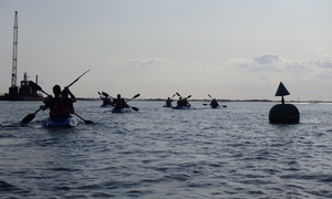 Fluid Adventures : Two-Hour Sunset  Kayaking Experience for Up to Four at Fluid Adventures
