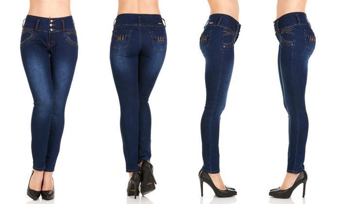 6741ce697b2 Women s Colombiana Jeans by Isabella Valencia. Plus Sizes Available ...