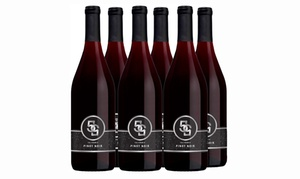 Vintage Wine Estates ''55'' Pinot Noir (6-Pack). Shipping Included.