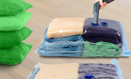 4, 8 o 12 bolsas de almacenamiento al vacío