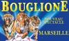 Tournée du cirque Bouglione 2017 - Esplanade du J4  - Face au Mucem: Place enfant ou adulte, catégorie et date au choix, pour le Cirque Bouglione, dès 12,99 € à Marseille