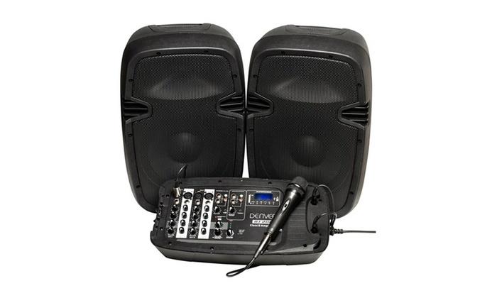 Mesa de mezcla Denver DJ-200 | Groupon