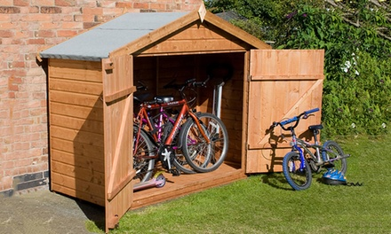 Garden Bike Storage in Choice of Two Designs from £169 With Free Delivery