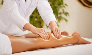Wal Coiffeur: Massage drainant de 45' avec option de 15' de Power Plate dés 19,99€