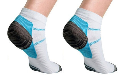 Plantar Fasciitis and Ankle Compression Socks (1-, 3-, or 6-Pack)