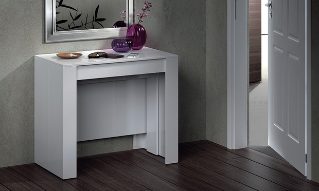 Extending DiningConsole Table Groupon Goods