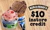$10 Toward Ice Cream