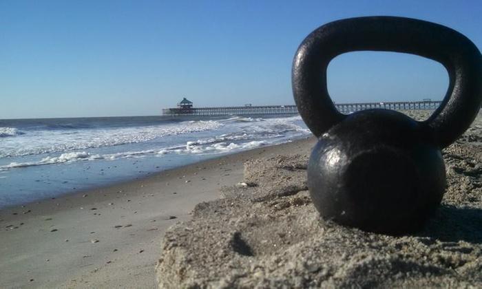 Gold Standard Strength LLC - Folly Beach: $28 for Four Beach Group Fitness Classes— ($79 Value) — Gold Standard Strength LLC