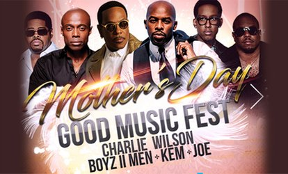 image for Presale: Mother's Day Good Music Festival at Barclays Center on May 12th Ft Charlie Wilson, Kem, Joe & Boyz II Men