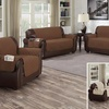 Quilted Reversible Furniture Slipcover with Storage Pockets