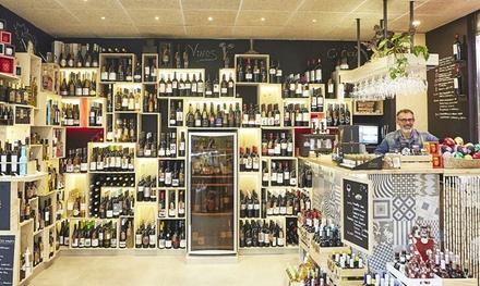 Cata horizontal de vinos con maridajegourmet para 2, 4 o 6 personas desde 12,90 € en Mercat Divi