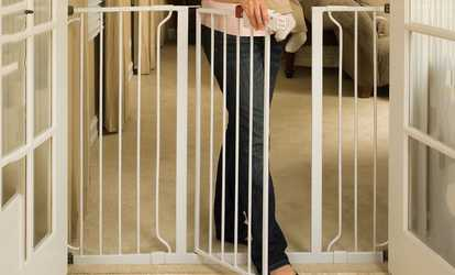 Shop Groupon Regalo Extra Tall Widespan Baby Gate