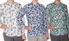 Camicia da uomo Kiosa in 100% lino