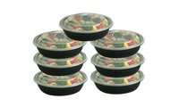 Reusable 20-Pieces Food Storage Container Set (1 Compartment)