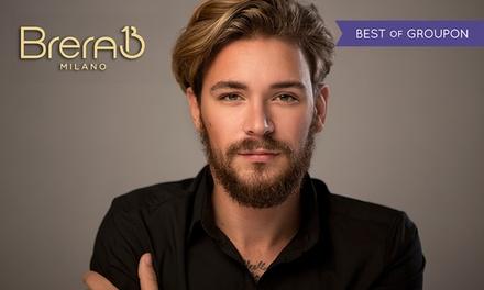 Shampoo specifico, taglio maschile e styling per una o 2 persone da Brera 13 Milano Hair Spa (sconto fino a 69%)