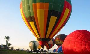 Playmobil Balonismo: Playmobil Balonismo – Boituva: voo de instrução de balão com certificado e 1 taça de champanhe para 1 ou 2 pessoas