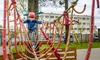 Zabawa w parku linowym